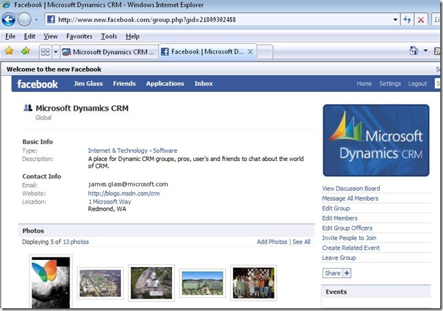 facebookCRM