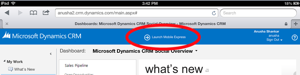 Launch Mobile Express