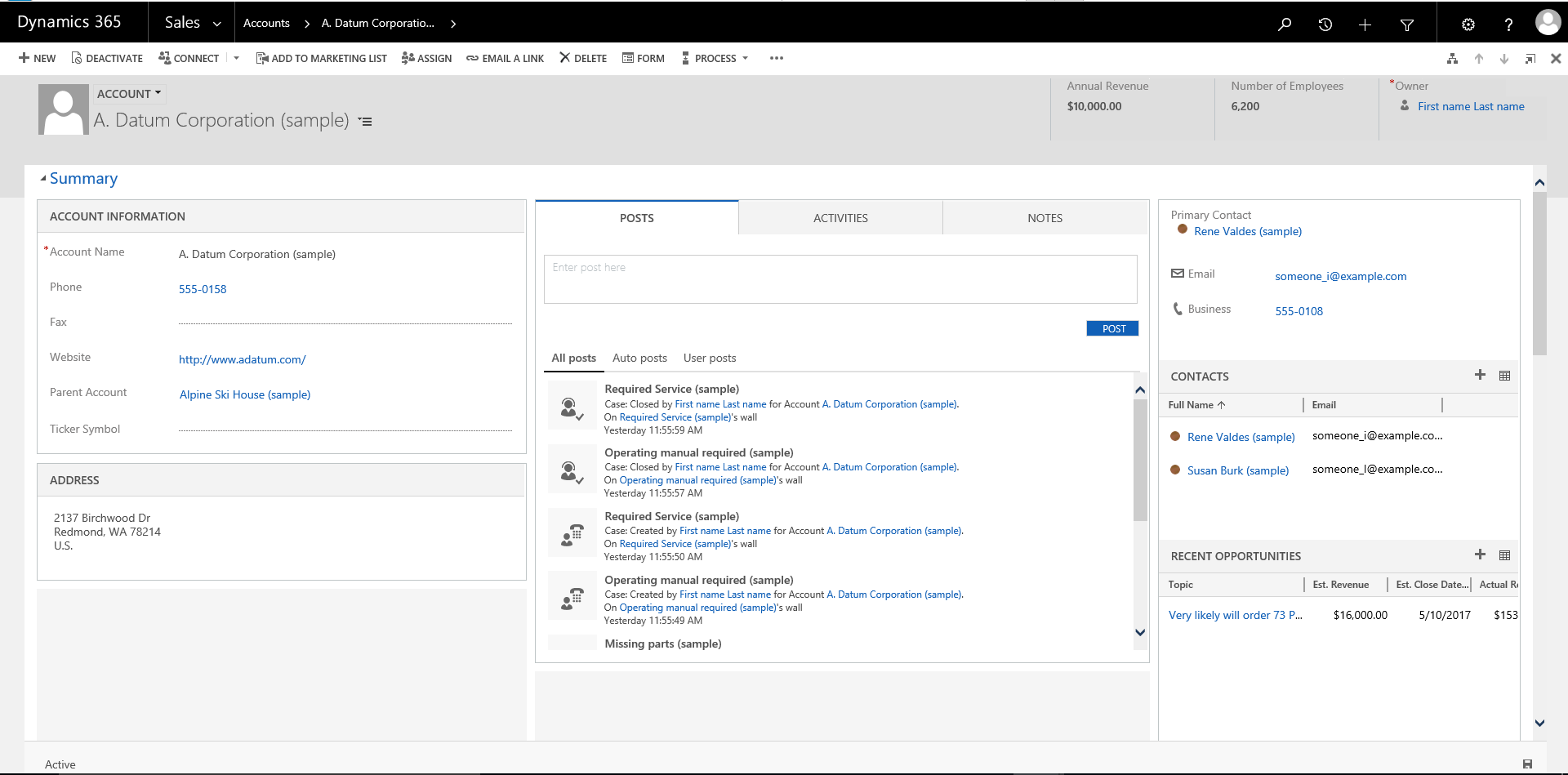 The new user interface of web client