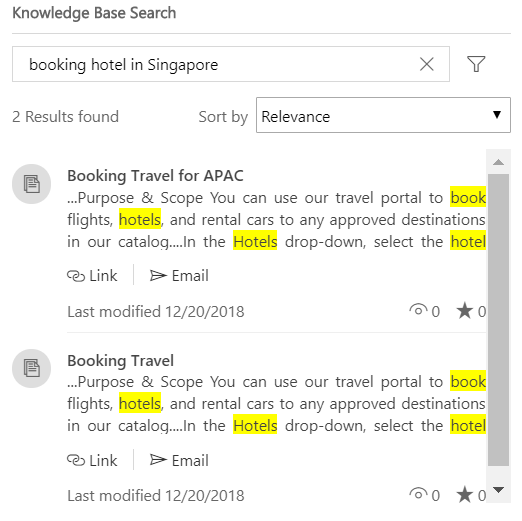 Search tuning on any knowledge article field