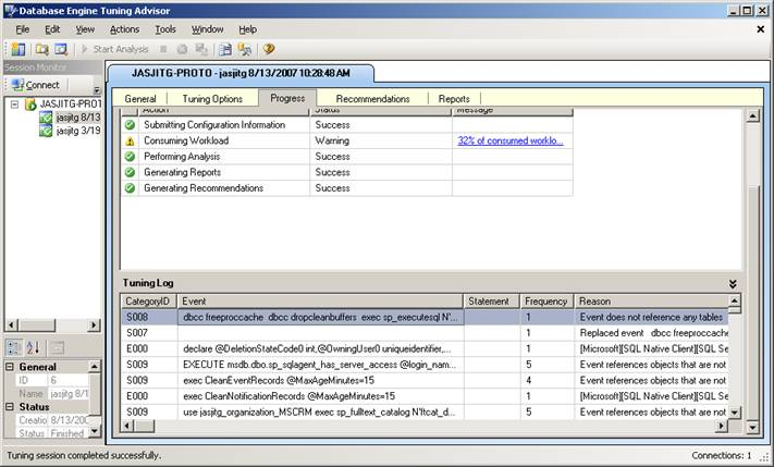 Using Database Tuning Advisor with CRM - Dynamics 365 Blog