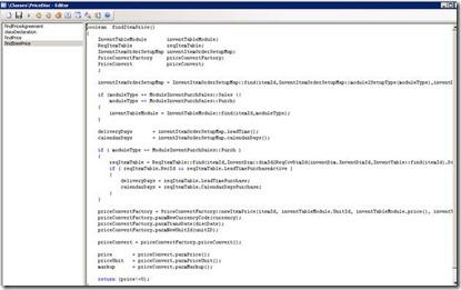 PriceDisc.findItemPrice() method