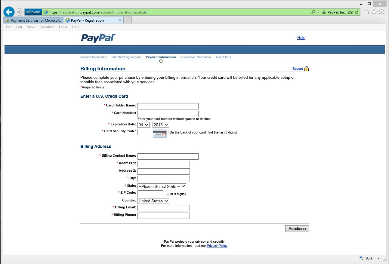 Dynamics Online Payment Services - PayPal sign up - Dynamics 365 Blog