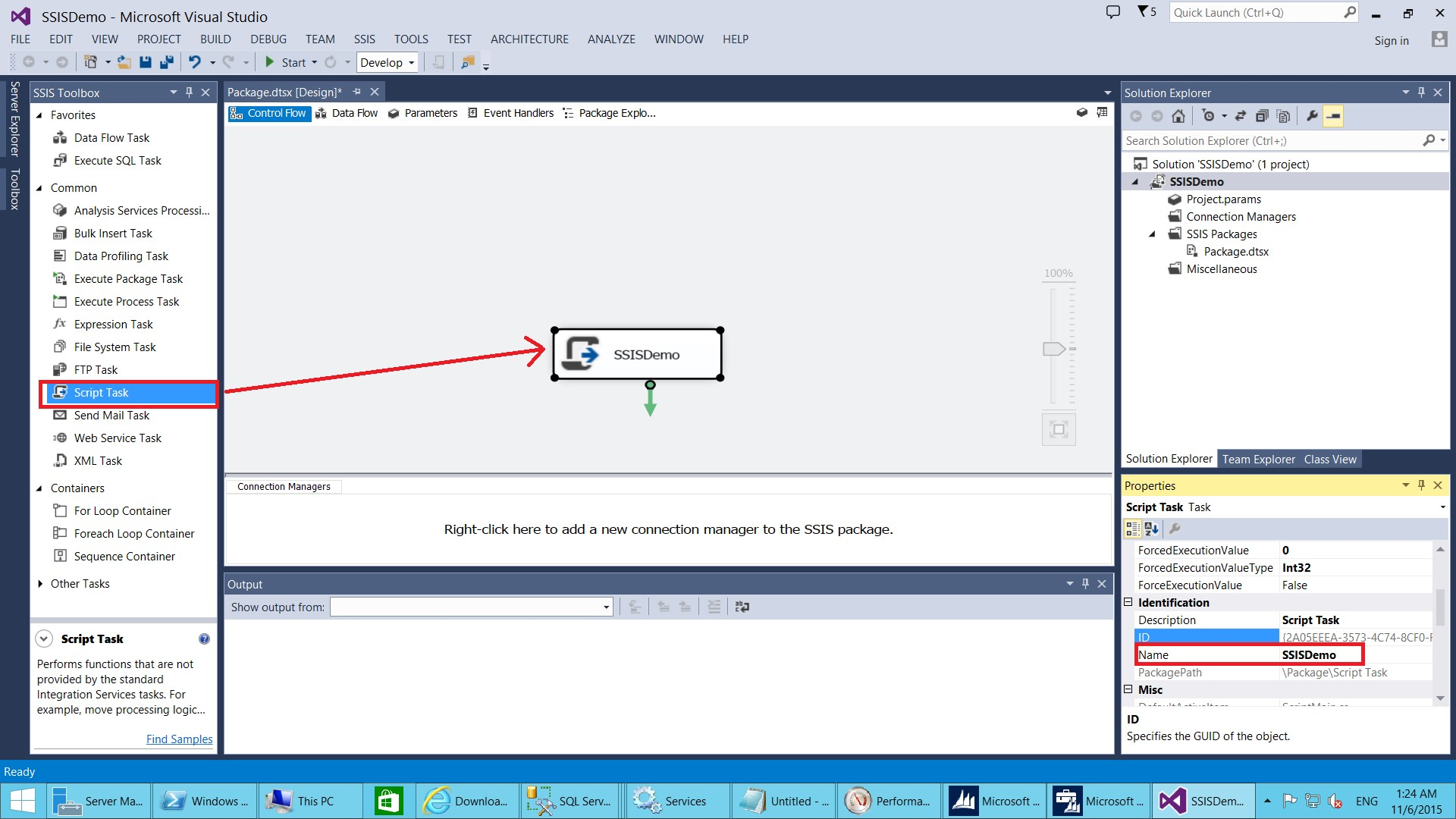 Calling AX 2012 Business Logic from SSIS Using a Script Task