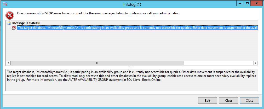 07_InfoLog_The_target_database_is_participating_in_an_availability_group