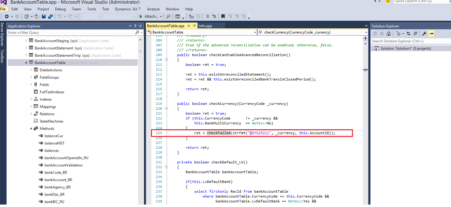 Quick and easy debugging in AX 7 - Dynamics 365 Blog