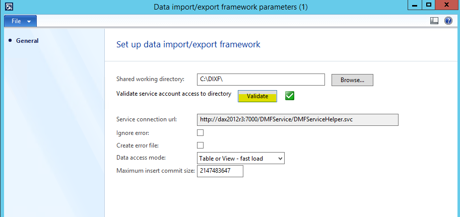 How to use DIXF to import an Inventory counting journal into