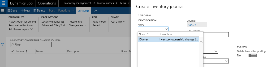 Inbound consignment inventory - Dynamics 365 Blog