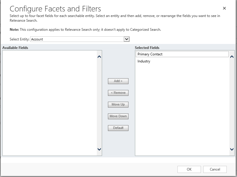 Relevance Search is now available in Dynamics 365 (online