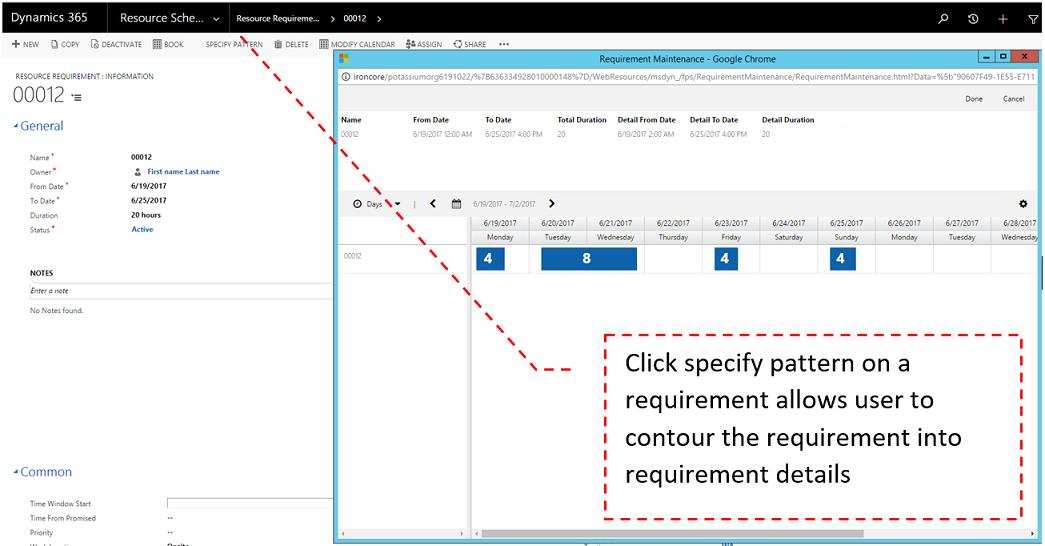 Fulfillment enhancement requirement breakdown: Contour the requirement into requirement details
