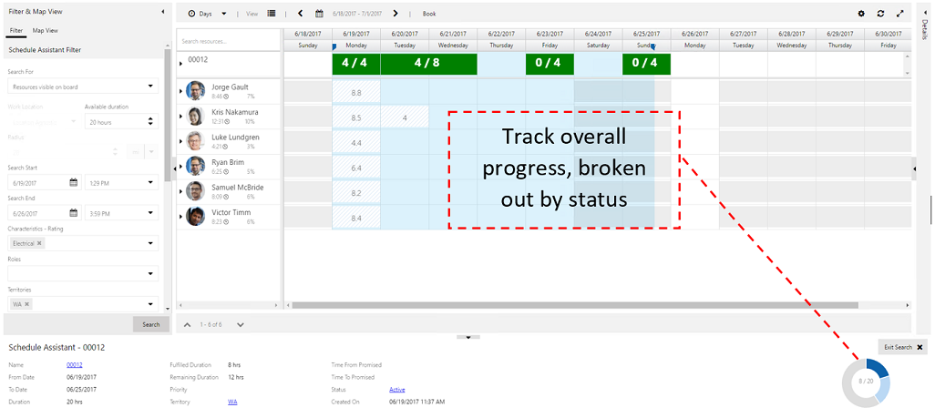 Fulfillment enhancement_Track overall progress by status