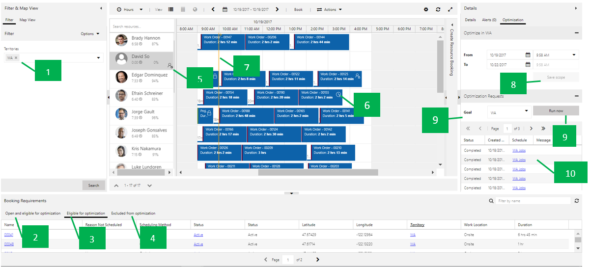 What's New for Dynamics 365 Resource Scheduling Optimization v1