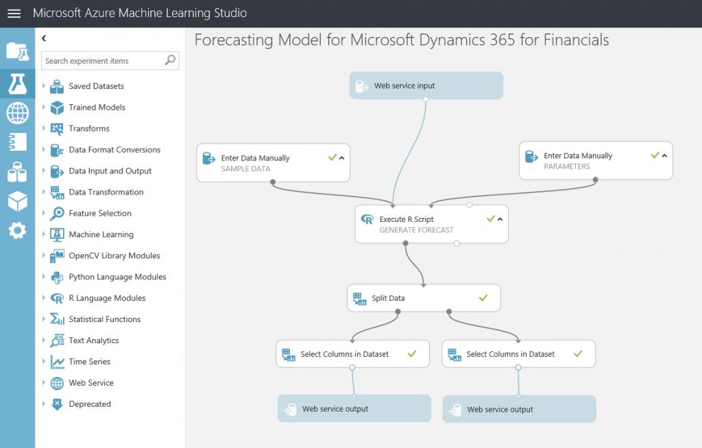 Smart solutions 4: Integrate NAV with an Azure Machine