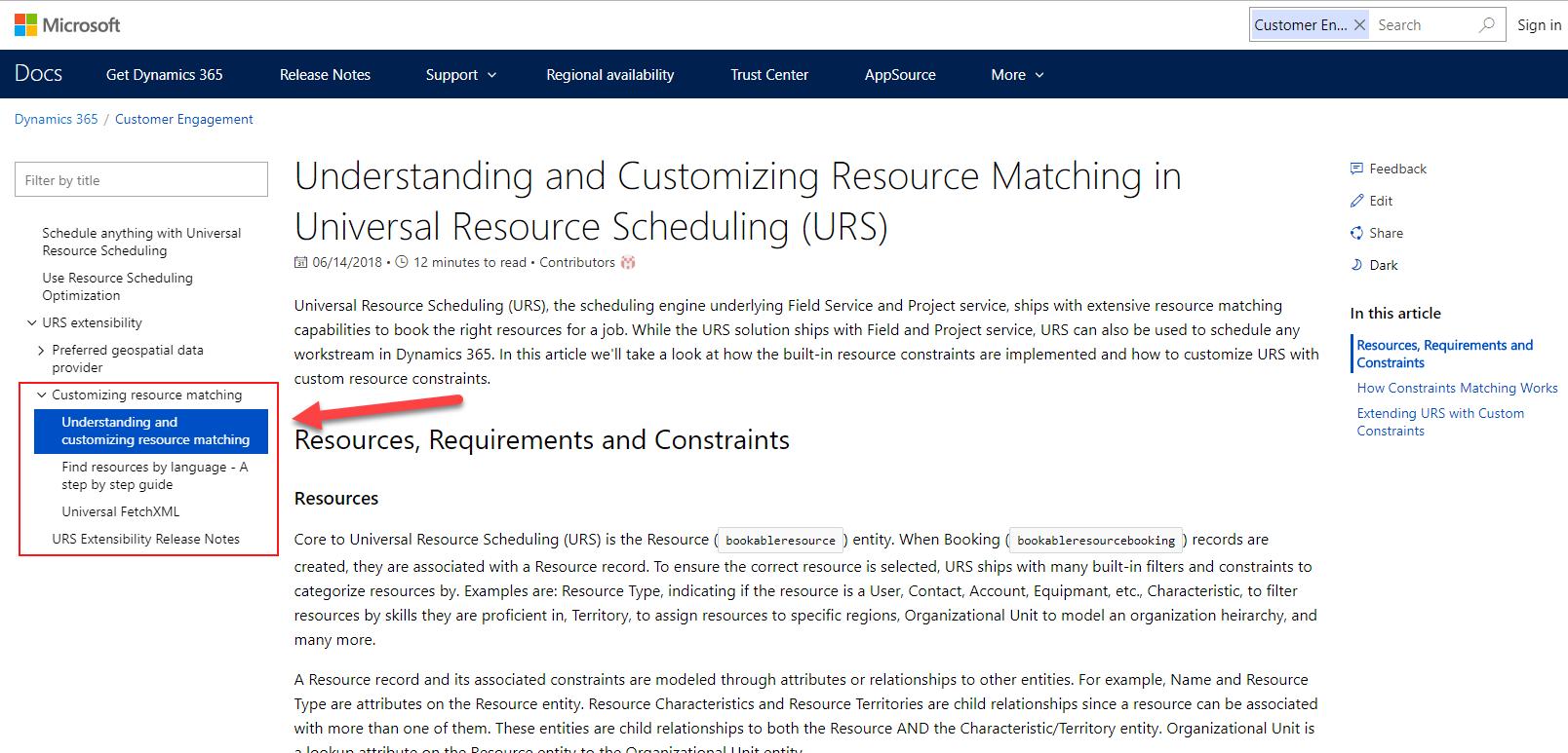 Universal Resource Scheduling documentation