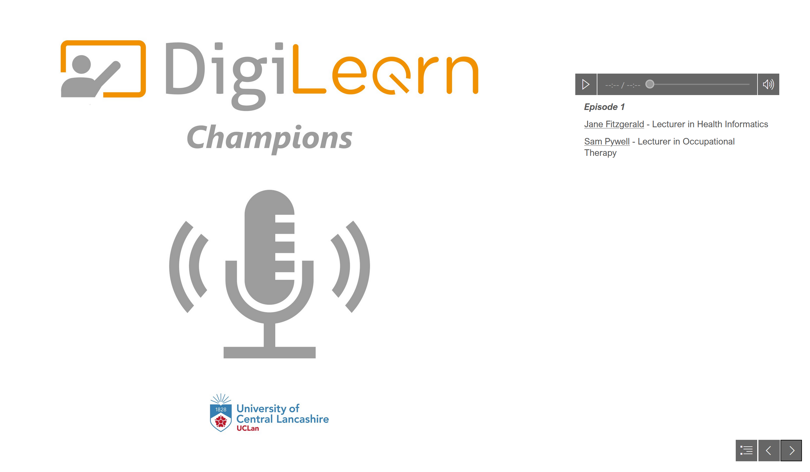 DigiLearn podcast series