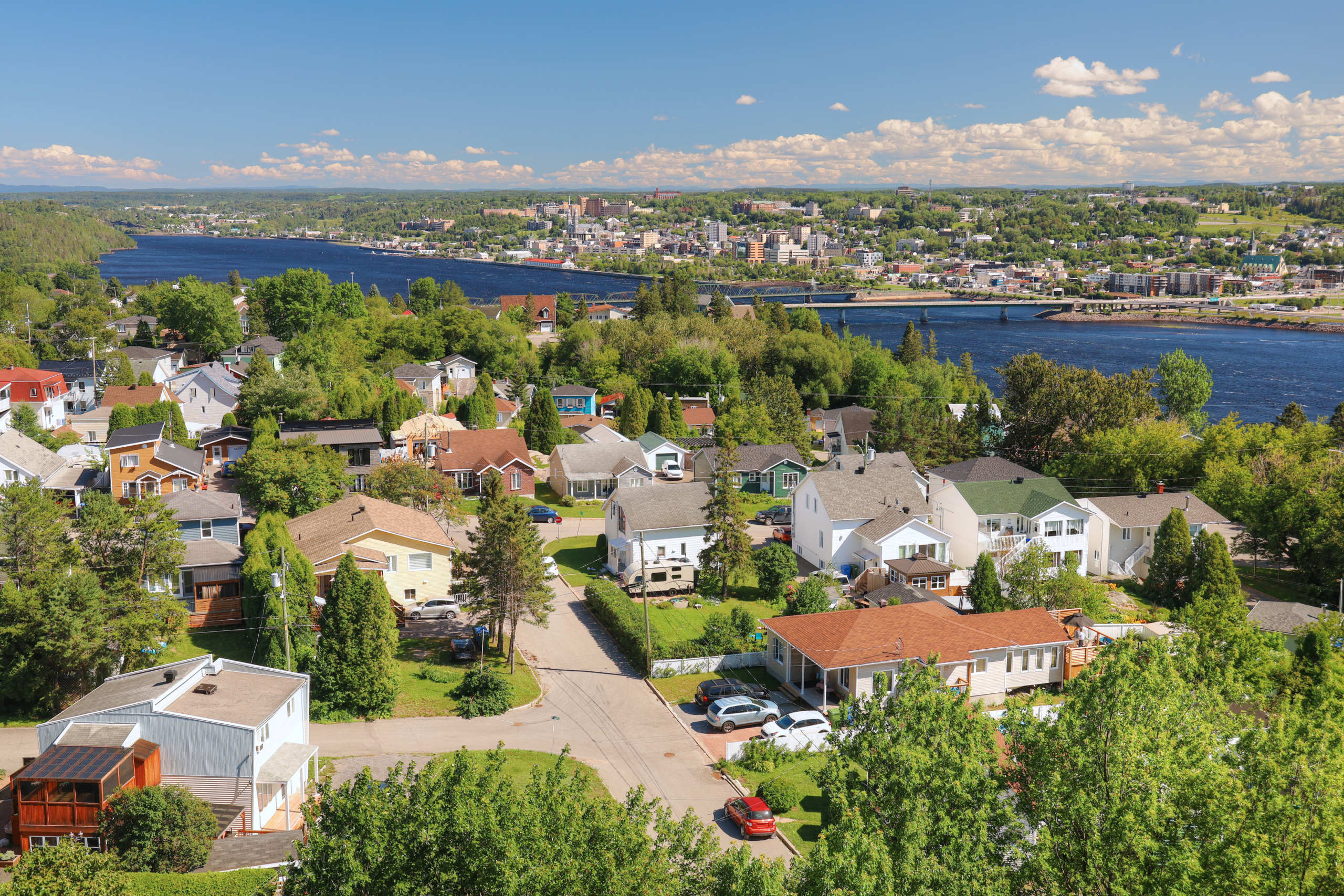 Image of a Canadian city