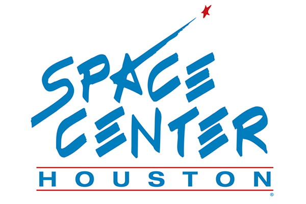 Space Center Houston logo.