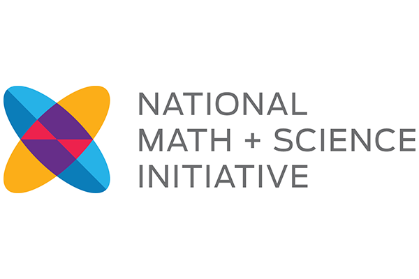 National Math and Science Initiative logo.