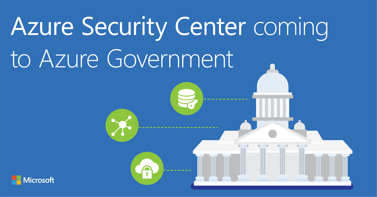 Azure Security coming to Azure Government