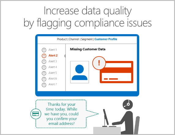 Increase data quality graphic