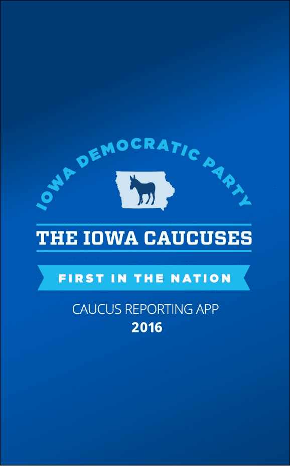 Iowa Democratic Party - Caucus App