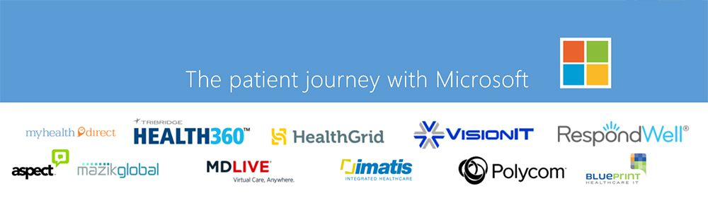 The patient journey with Microsoft
