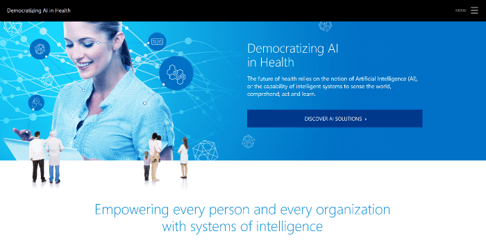 Democratizing AI in Health screenshot