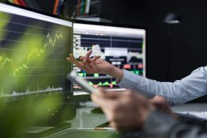 Dual monitors with intelligent automation graphs