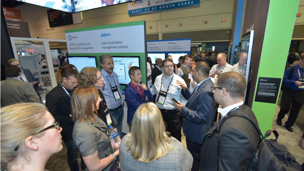 HIMSS show floor