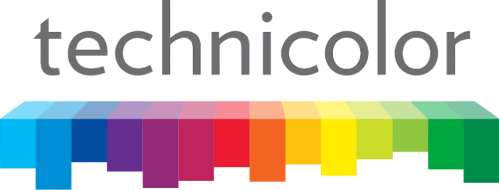 Technicolor logo used to announce partnership