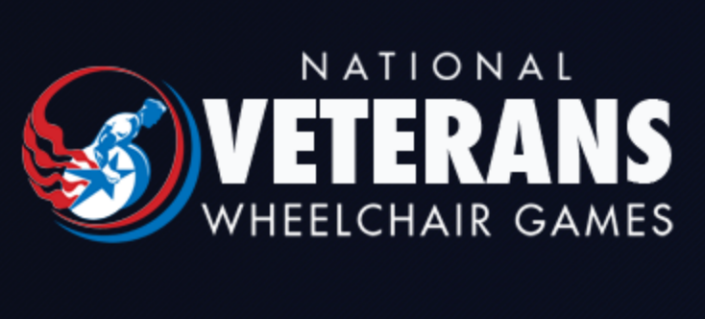Logo of the National Veterans Wheelchair Games