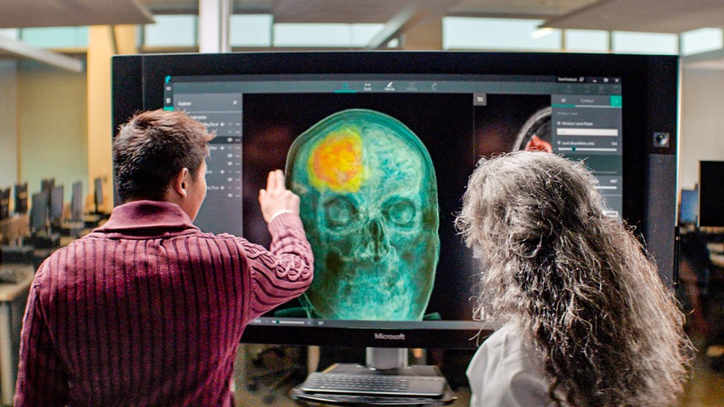 AI technology being used to help doctors better visualize conditions such as cancer for improved treatment.