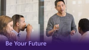 Be Your Future - Microsoft Apprenticeships and Degree Apprenticeships