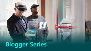 Mixed reality blogger series banner