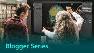 Blogger series AI in healthcare banners