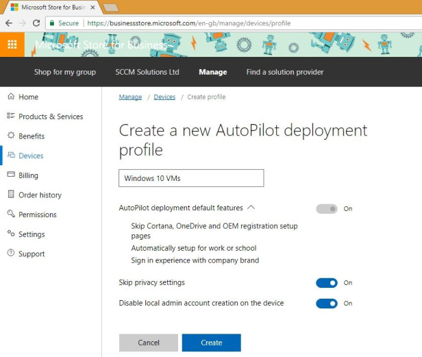 Implementing Windows Autopilot - the future of device