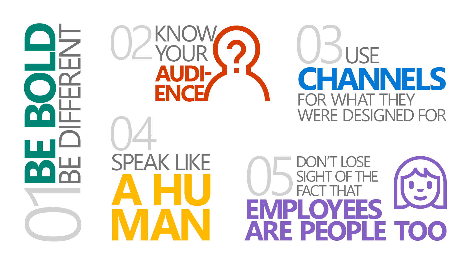 5 ways to stand out in the digital workplace graphic