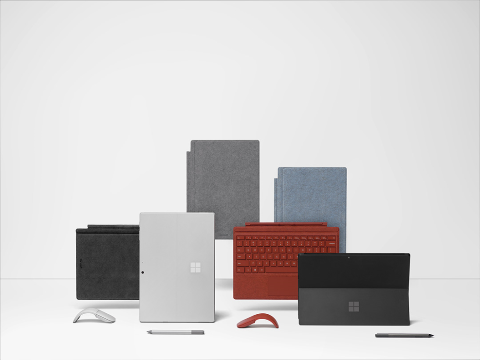 The Surface devices and accessories