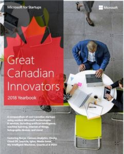 Graphic of the cover of the Great Canadian Innovators ebook