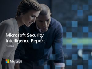 Image of Microsoft Security Intelligence Report cover