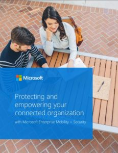 Cover of the Protecting and empowering your connected organization ebook