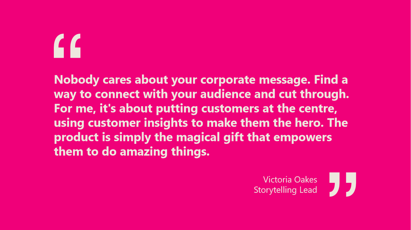 Quote from Victoria Oakes