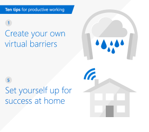 Top 10 tips for productive working