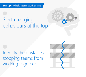 Top tips to help teams work as one