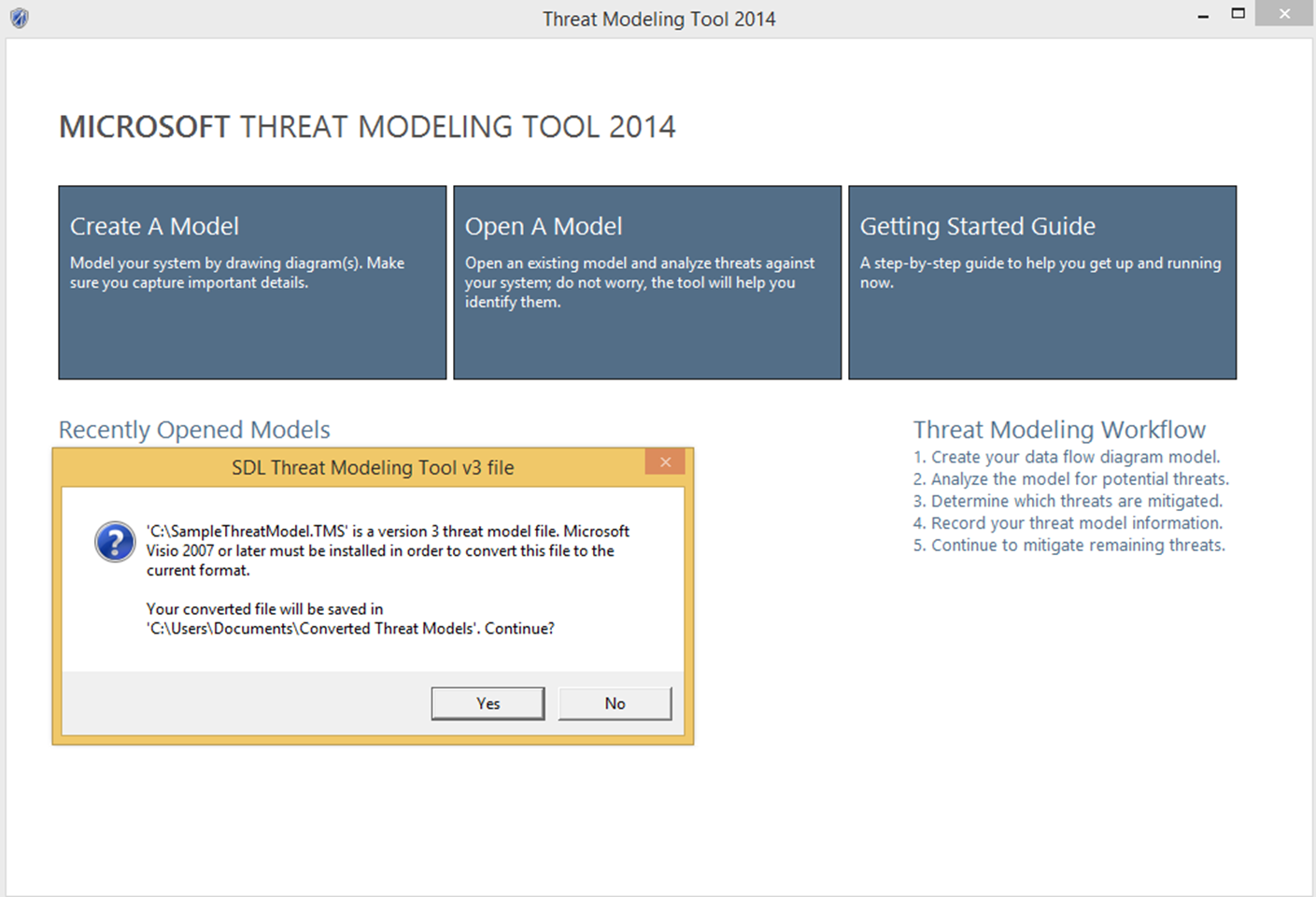 Introducing Microsoft Threat Modeling Tool 2014 - Microsoft Secure