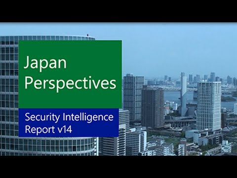 Microsoft Security Intelligence Report volume 14 on the Road: Japan