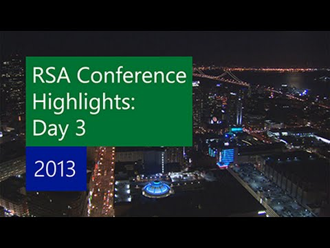 RSA Security Conference: Microsoft Sessions