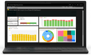 Pin Report items to Power BI dashboard