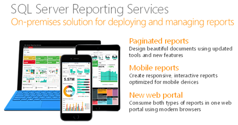 Deliver modern reports with SQL Server 2016 Reporting