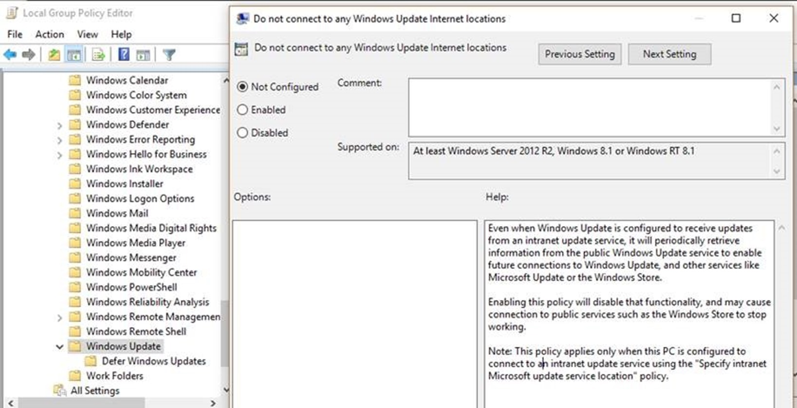 Why WSUS and SCCM managed clients are reaching out to